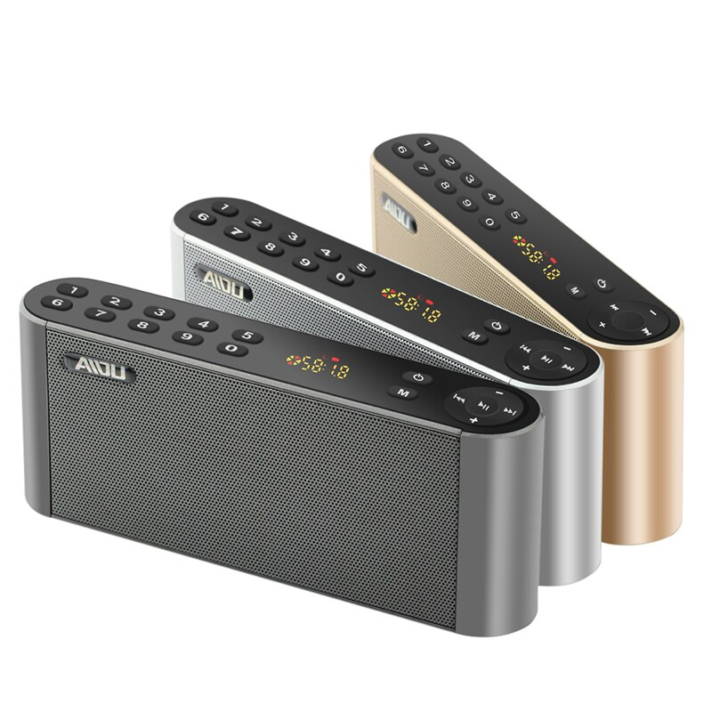 Q8 coluna bluetooth alto-falante portátil sem fio handsfree alto-falante de áudio subwoofer alta fidelidade led display alto-falante com microfone