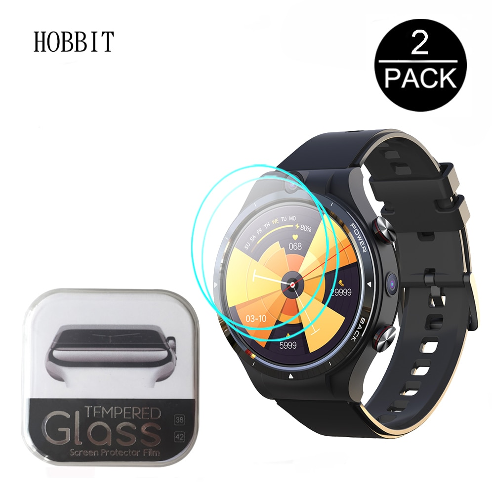 2PCS Tempered Glass For LEMFO LEM15 LEM 15 SmartWatch Screen Protector 9H...