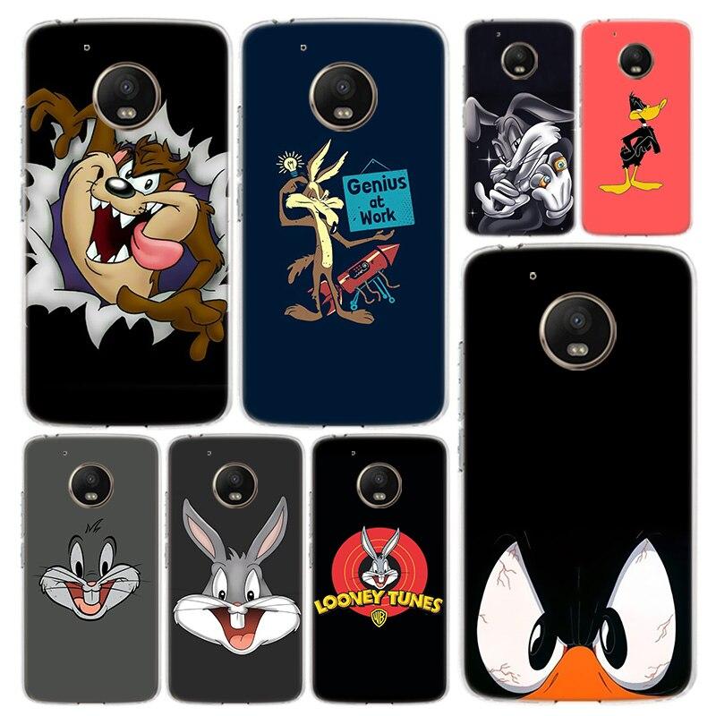 Bugs Bunny Looney Tunes Telefon Fall Abdeckung Für Motorola Moto G8 G7 G6 G5S G5 G4 E6 E5 E4 X4 spielen Plus Power + Eine Aktion Coque
