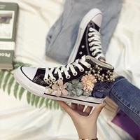 womenlace up canvas black girl casual shoes superstar sneakers shallow sweing zapatillas mujer stripe flats