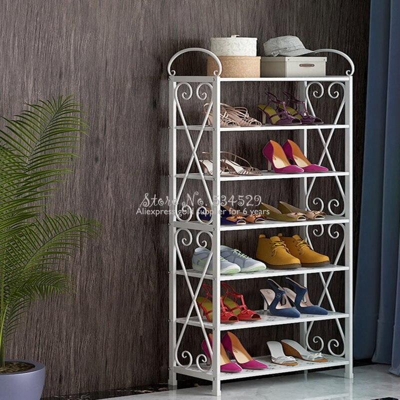 Zapatero De varias capas para el hogar, armario a prueba De polvo...