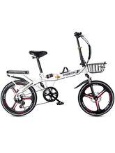16 pouces vélo pliant femmes ultra-léger portable adulte étudiant hommes et femmes petite vitesse variable mini vélo