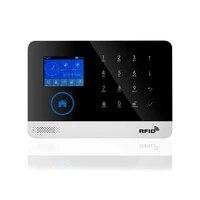 Tuya-smartlife     systeme dalarme de securite domestique filaire  sans fil  RFID  wi-fi  GSM  capteur de sirene  Compatible avec Alexa et Google Home