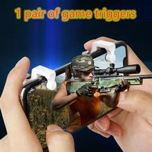 PUBG Moible Controller Gamepad Free Fire L1 R1 Triggers PUGB Trigger Attachments Gamepad For IPhone