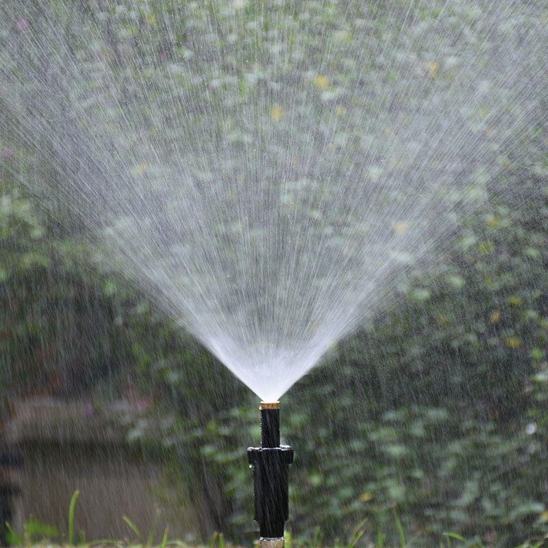 "1/2"" Female Lawn Watering Sprinkler 90 180 360 Degree Pop up Sprinklers Nozzle Refraction fog nozzle  1 Pc"