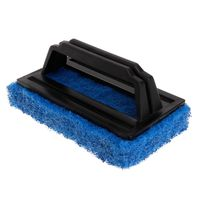 2020 New Aquarium Brush Fish Tank Single Face Handle Cleaning Algae Glass Scraper Cleaner Plastic Sponge Foam Professional