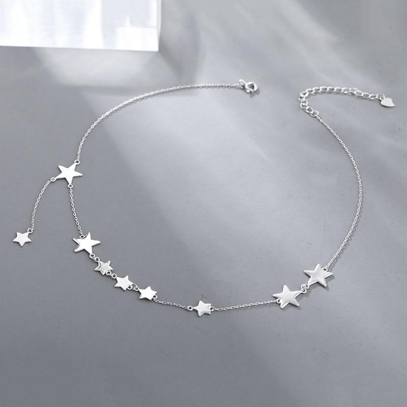 Женское-вечерние-жерелье-из-серебра-925-пробы-с-подвеской-в-виде-звезд
