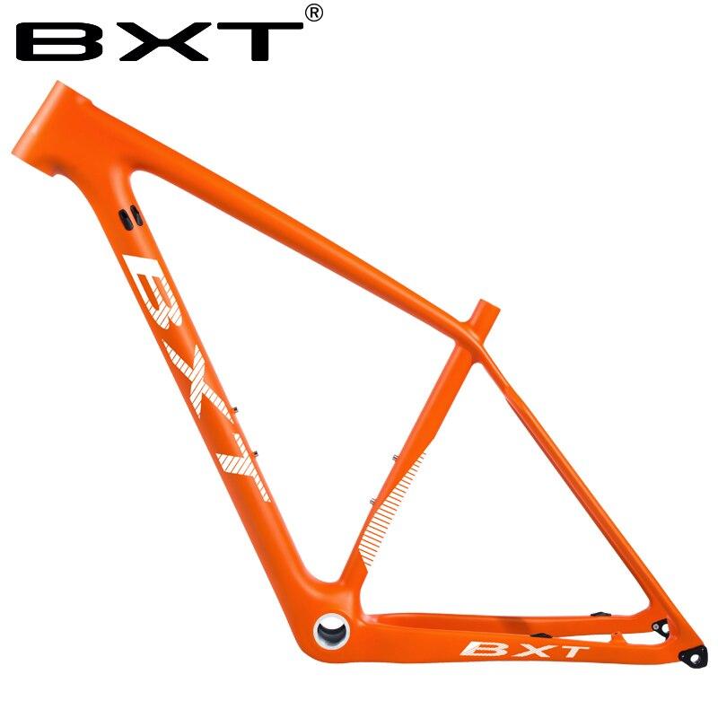 BXT 29er carbono mtb bicicleta de montaña marco súper ligero 142/148mm bicicletas usadas para carreras bicicleta carga máxima 250kg MARCOS DE CICLISMO