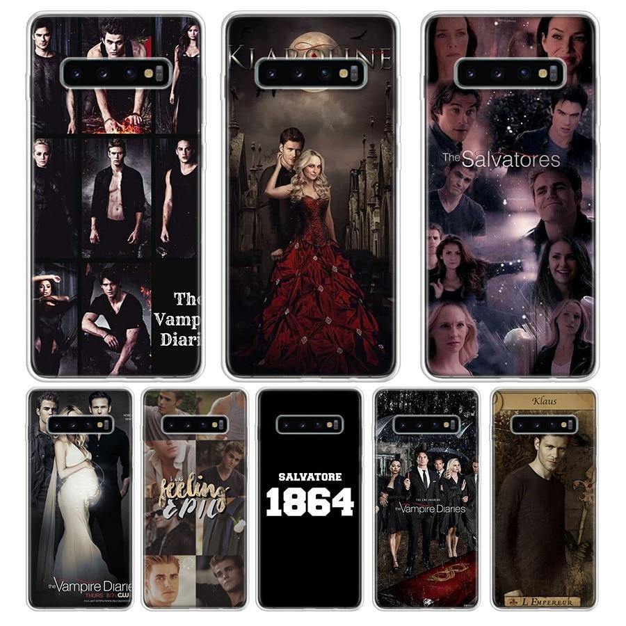 The Vampire Diaries Stefan Damon Salvatore Phone Case For Samsung Galaxy A70 A50 A30 M40 M30 M20 A60 A40 A20 A10 M10 Phone Cover