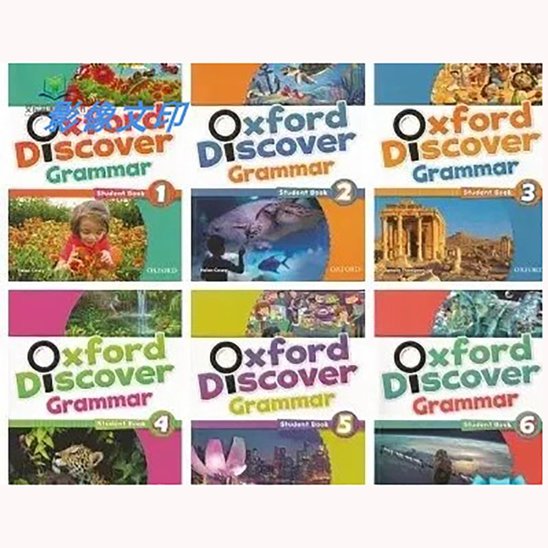6 Books Oxford Discover Grammar 1/2/3/4/5/6Complete Set Of Textbooks Oxford Reading And Writing