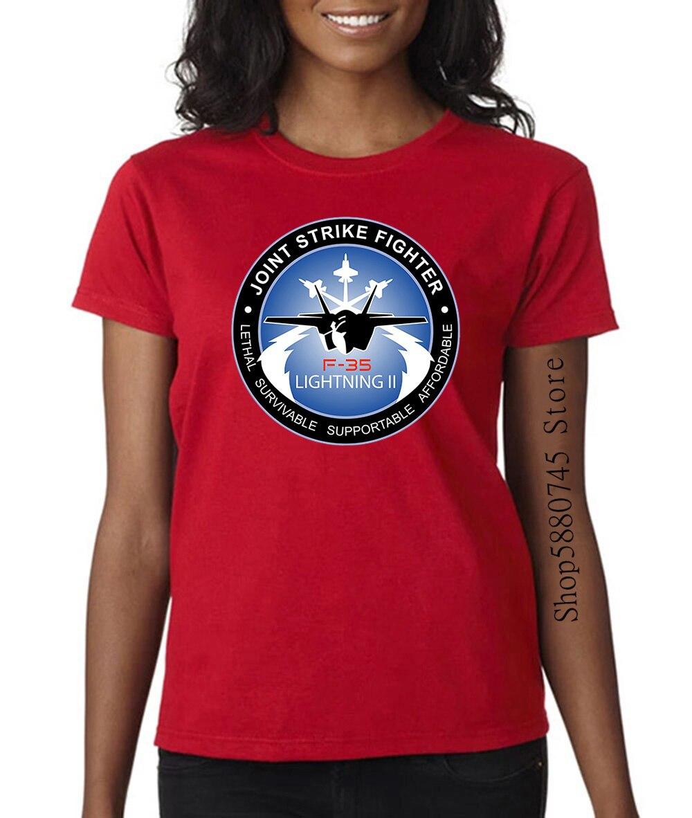2020 mode nouveau F 35 Lightning Ii Joint Strike Fighter Combat militaire noir homme t-shirt t-shirt