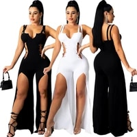 new womens hot sale european and american womens sexy long dress solid color back zipper dress