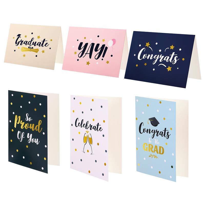30 Sets Graduation Season Gift Cards With Envelopes Premium Quality Greeting Cards For Graduation Celebration