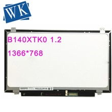 "Free Shipping B140XTK01.2 B140XTK01.1 B140XTK01.0 14.0"" LCD Screen With Touch LCD Display 1366*768 EDP 40 Pins"