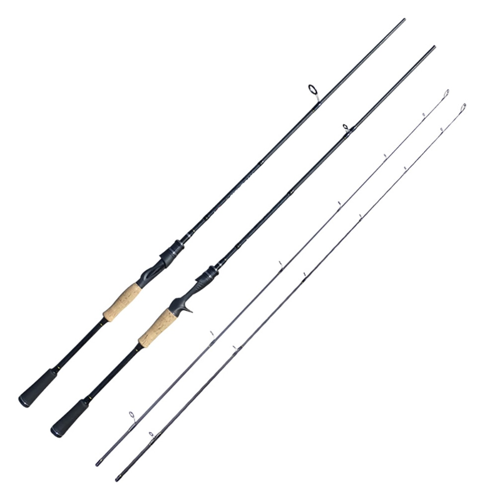 Spinning Fishing Rod Casting Double Tip M+ML Power 2.1m 2.4m High Carbon 7-18g/10-28g Lure Weight for Ocean Boat enlarge