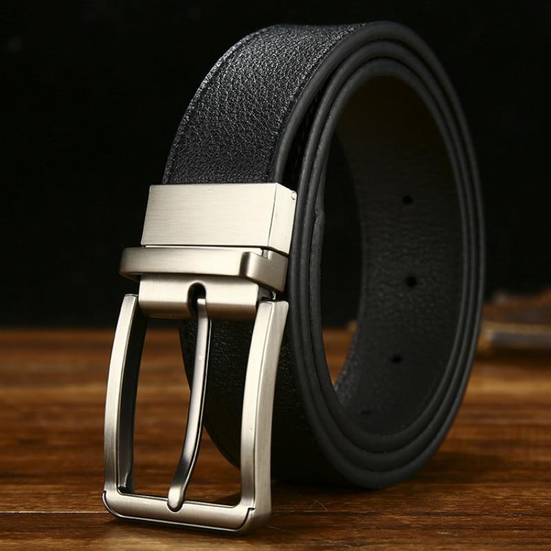 Peikong brand leather belt men belt male genuine man belts  strap luxury pin buckle belts for men Cummerbunds ceinture homme