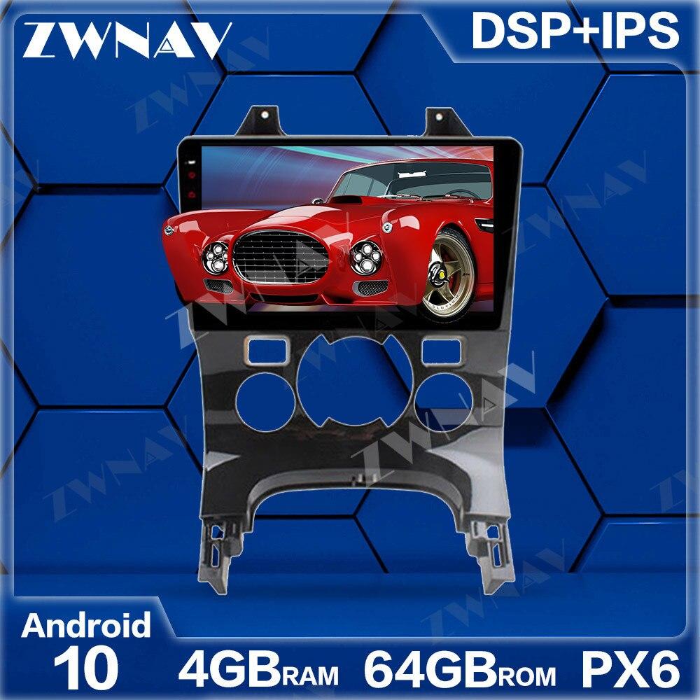 Px6 4gb + 64gb android 10.0 reprodutor de multimídia do carro para peugeot 3008 2013-2016 unidade principal da tela de toque do estéreo do ips do rádio de navi do spg