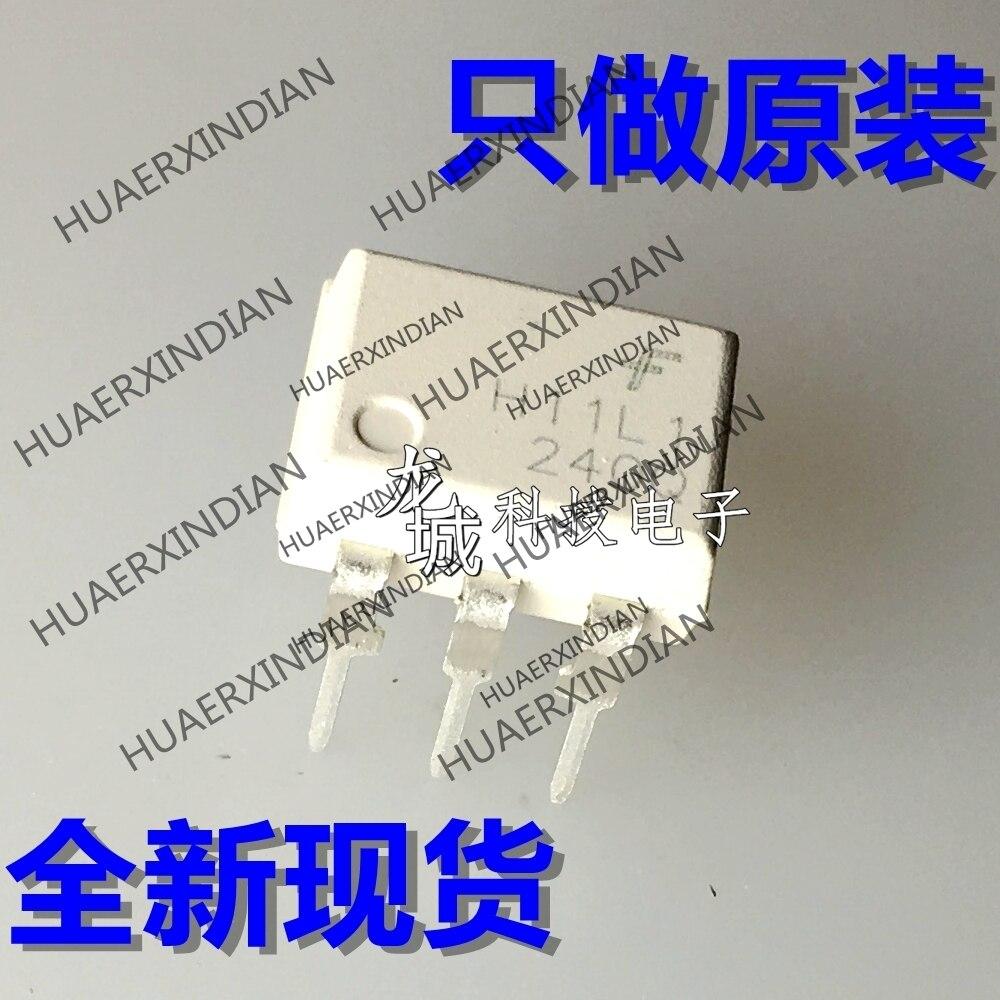 10 unids/lote, nueva fábrica Original H11L1M DIP-6 H11L1 en stock