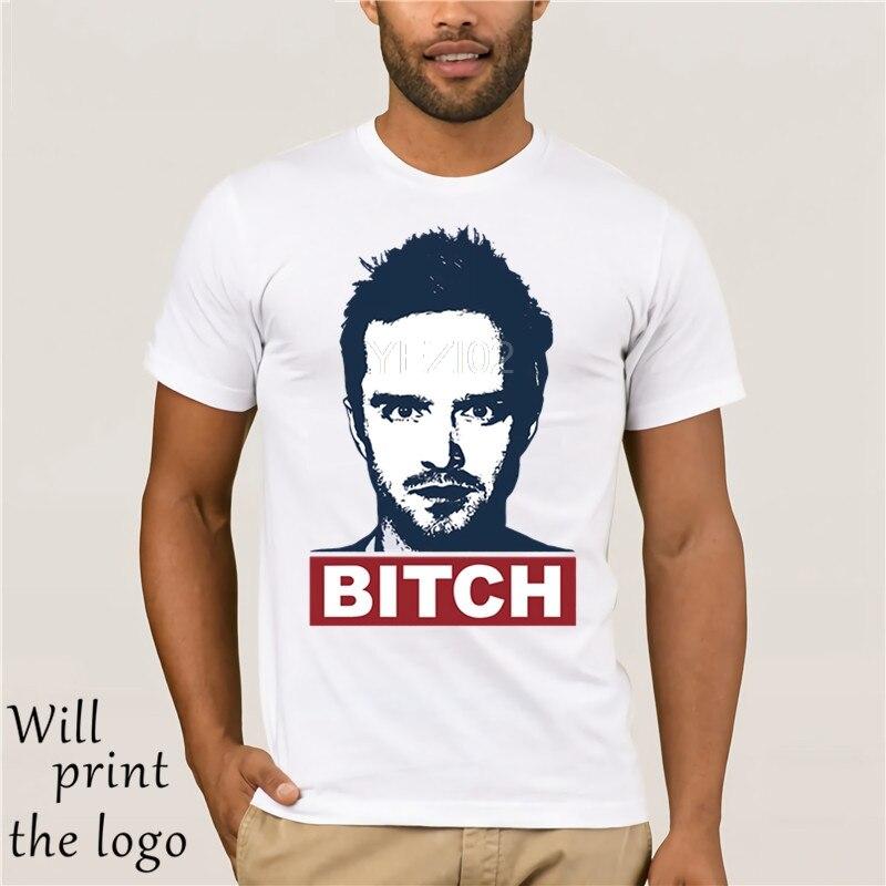 Moda estilo legal camisetas masculinas quebrando bad jesse pinkman segure a calma ciência cadela t-shirts impressas básico manga curta