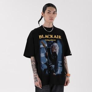 2021 Harajuku t shirts Oversized Summer Men/Women Hip Hop Fashion Gothic Print Tshirt Men Streetwear T-shirts Short Sleeve2143