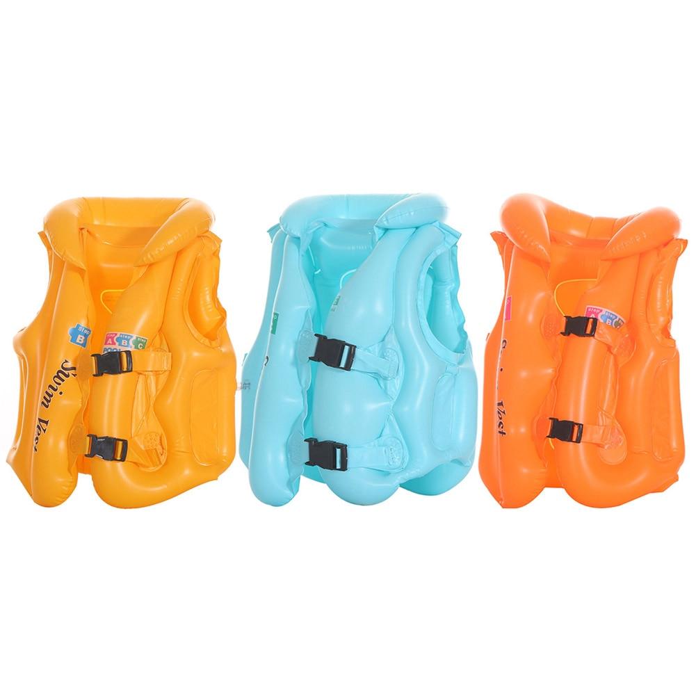 Children Inflatable Swimsuit  Baby Life Jacket Floating swimsuit Buoyancy Baby floating inflatable K
