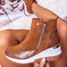 2021ใหม่หนังนิ่มผู้หญิงรองเท้าแฟชั่นรองเท้าลำลองผู้หญิงรองเท้าสบายซิปรองเท้าผ้าใบกันน้ำ ...