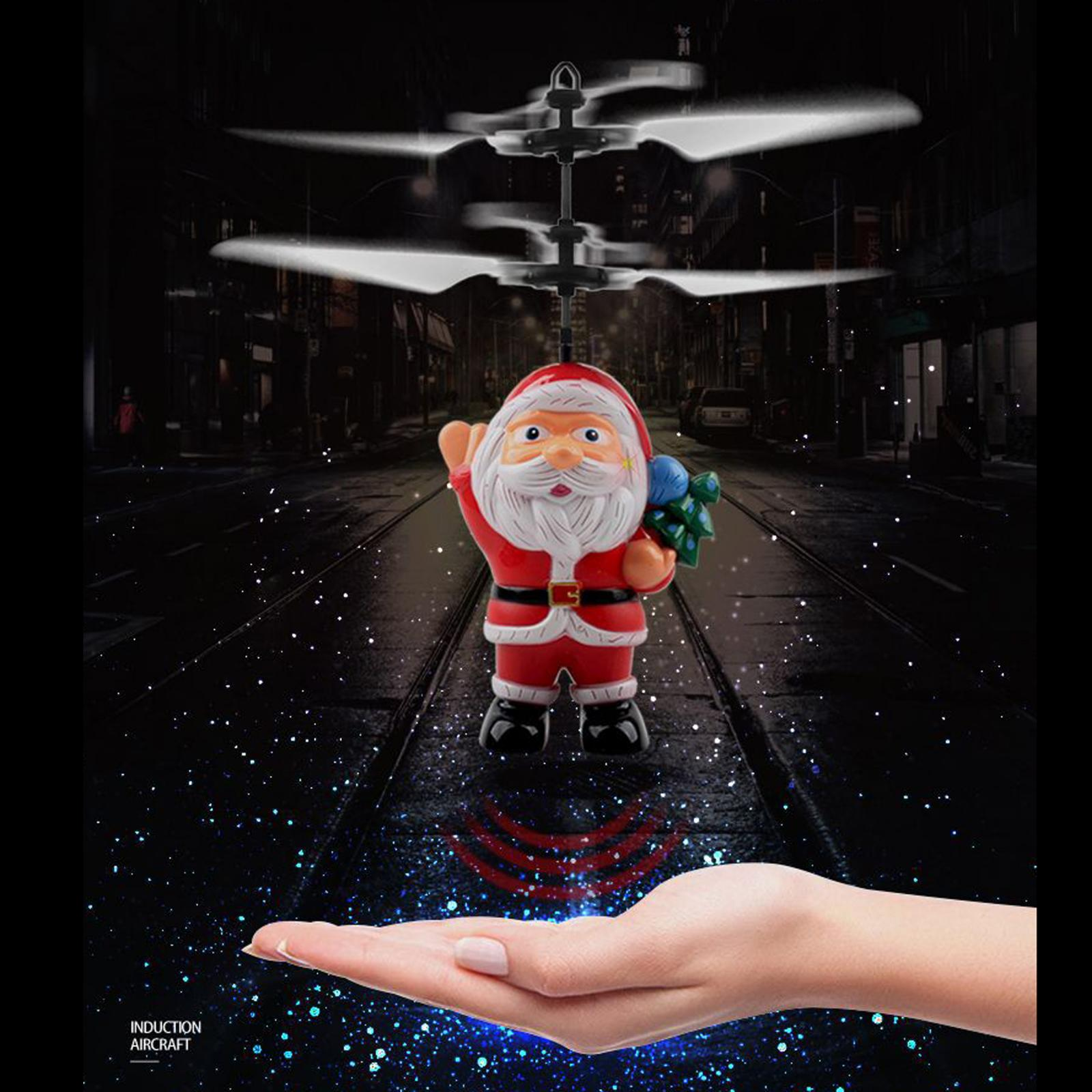 Hand Flying UFO  Mini Induction RC Airplane Flying Toy Kids Helicopter