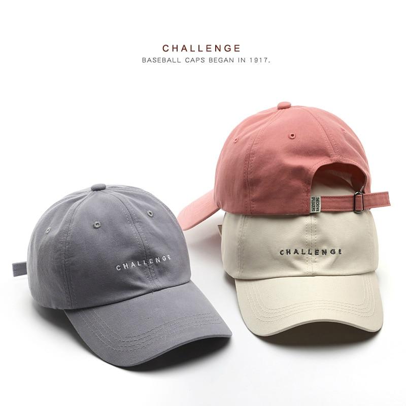 SLECKTON 2021 New Baseball Cap for Women and Men Summer Fashion Visors Cap Boys Girls Casual Snapback Hat CHALLENGE Hip Hop Hats