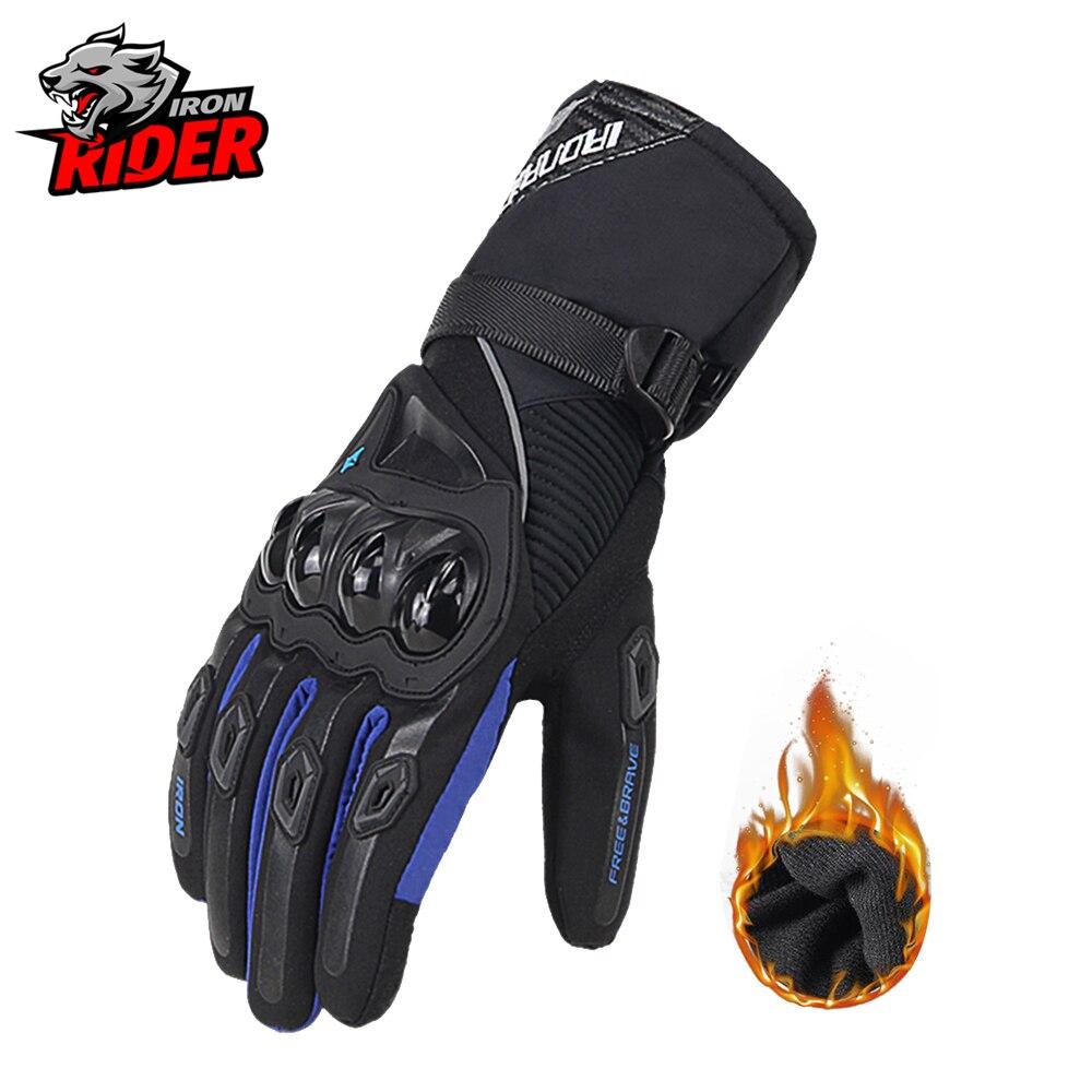 Мотоциклетные Перчатки, мужские перчатки с длинным запястьем, мужские гоночные перчатки для мотокросса, раллийные перчатки, мотоциклетные ...