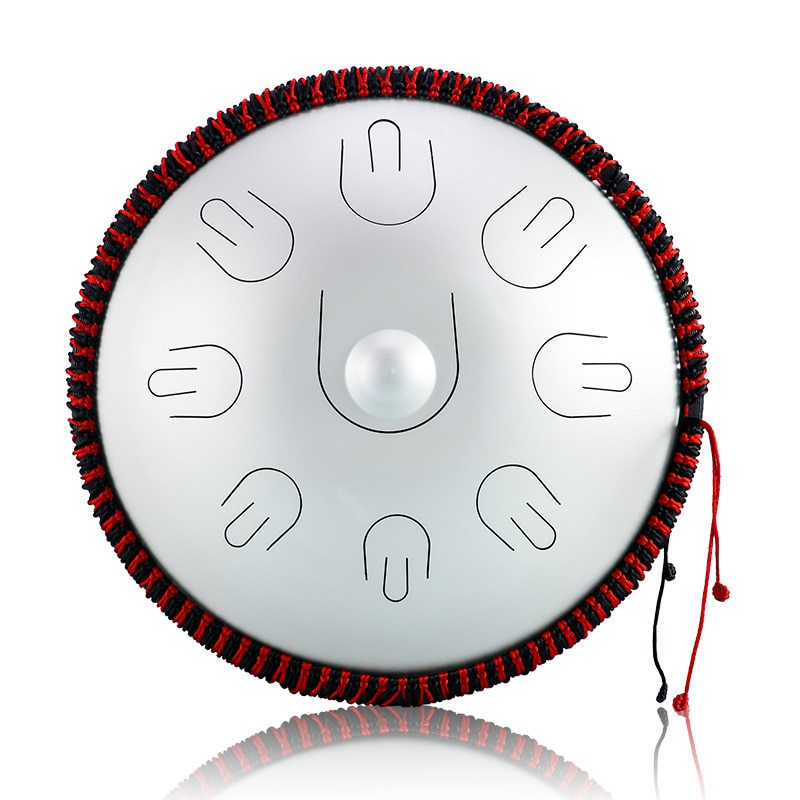 Hluru A professional 9 notes D Minor tones Tambourine Ethereal Steel Tongue handpan Drum Drummer Musical Instrument percussion enlarge