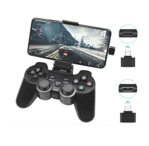 Wireless Gamepad For Android Phone/PC/PS3/TV Box Joystick 2.4G Joypad USB PC Game Controller For Xia