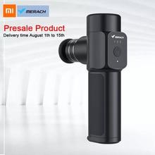 Xiaomi Merach Nano poche Fascia pistolet Portable petit relaxant musculaire Mini masseur 4 têtes de Massage 3 couleurs voyage corps Relaxation