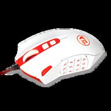 Redragon M901 souris de jeu filaire MMO rvb Led souris dordinateur rétro-éclairé 24000 DPI Performance 18 Programmable pour les jeux Windows PC