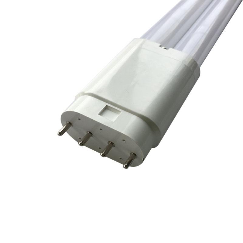 2G11 Led PL ضوء 542 مللي متر 18w 24w 130lm/w 4pin 2G11 H حجم مصباح أنبوبي SMD2835 AC85-265V