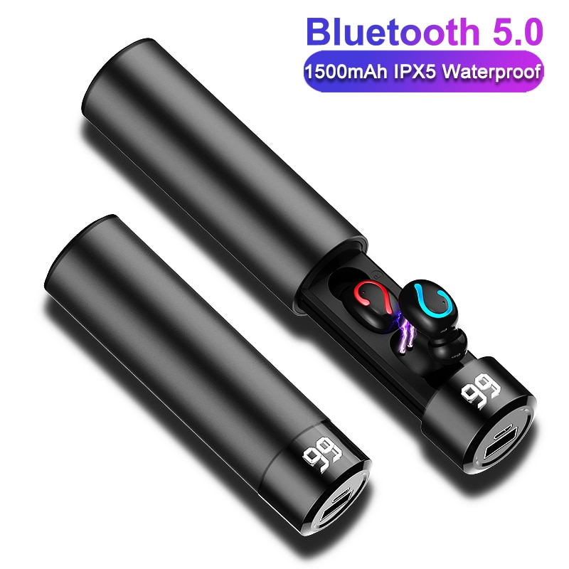 Q67 TWS auriculares inalámbricos 3D estéreo Mini auricular Bluetooth 5,0 con micrófono Dual auriculares deportivos a prueba de agua auricular de emparejamiento automático Q32