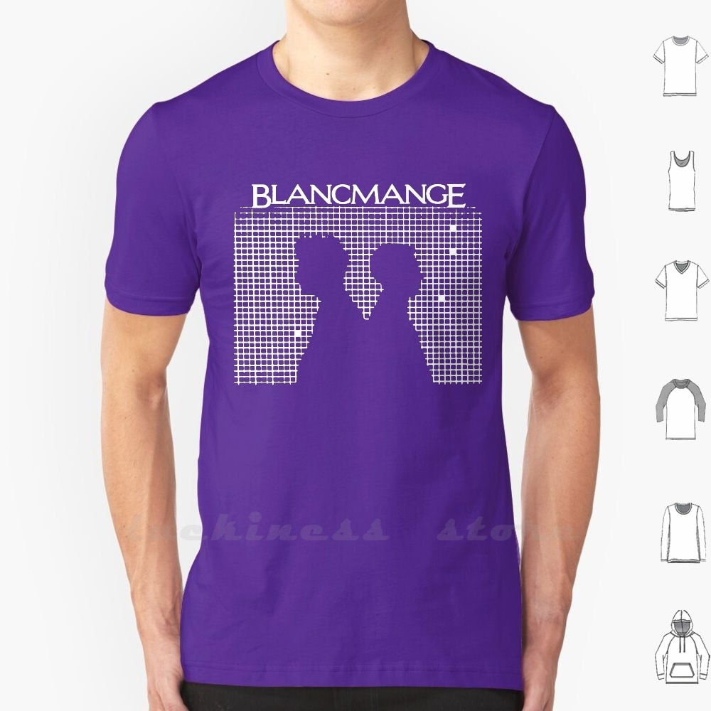 Blancmange t camisa de algodão masculino feminino adolescente violento femmes pixies substituições lloyd cole yaz camaleões culto