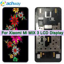 AMOLED для Xiaomi Mi Mix 3 ЖК дисплей сенсорный экран дигитайзер Mi Mix 3 ЖК дисплей в сборе с рамкой для Xiaomi Mi MIX3 ЖК дисплей