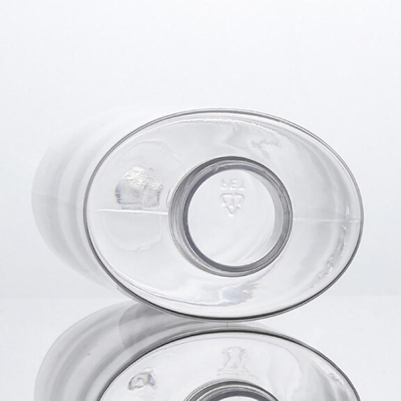 120ML / 200ML Transparent Toner Essential Oil Liquid PET Spray Empty Bottle Plastic Flat Bottle Refill Bottle