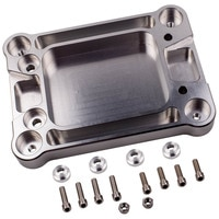 1x Billet Shifter box Base Plate for Honda Civic Integra K20 K24 K Series Swap