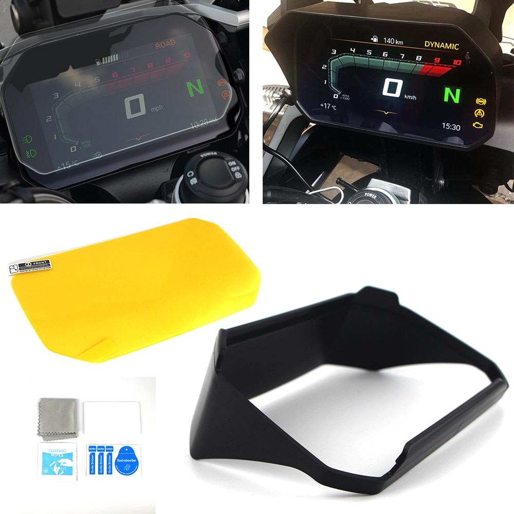 Мото инструмент шляпа солнцезащитный козырек метр крышка Защита экрана для BMW R1200GS LC Adventure R1250GS LC/Adv F750GS F850GS C400X