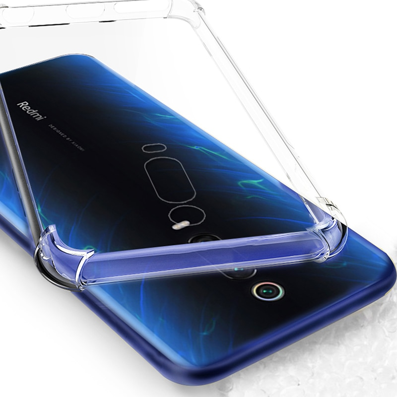 Kainuen transparente teléfono tapa III... coque... cubierta de funda para xiaomi mi 9 t pro mi 9 t mi 9 9 t 9tpro accesorios Silicona
