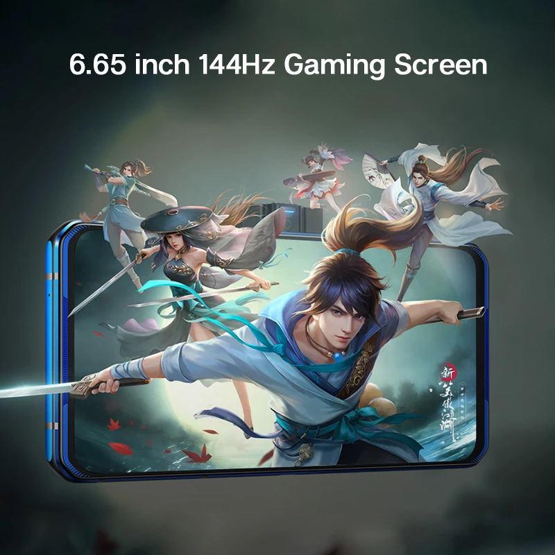 Фото3 - 2020 оригинальный телефон Lenovo Легион Pro 5G игровой телефон 8 ГБ 128 6,65 ''Snapdragon865 плюс 5000 мА/ч, 90 Вт Супер заряда NFC Смартфон