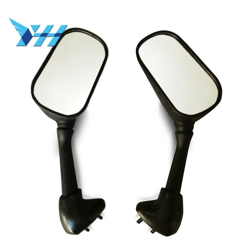 1 par espejo retrovisor negro retrovisor para Suzuki GSXR600/750 04-05 GSXR1000 03- 04 GSX650F GSX650F 08-12