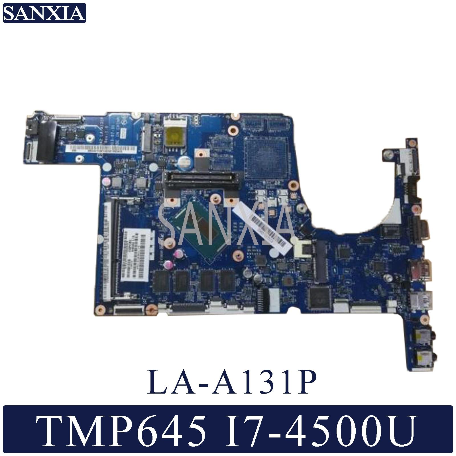 KEFU LA-A131P اللوحة لابتوب أيسر TMP645-MG Travelmate-P645 اللوحة الأصلية 4GB-RAM I7-4500U