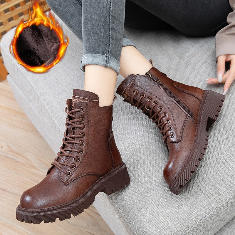 موضة أحذية النساء مريحة نمط منصة الأحذية جديد المطاط أحذية جديدة موضة أحذية امرأة غير رسمية