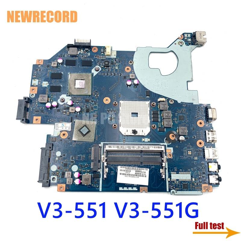 NEWRECORD Q5WV8 LA-8331P اللوحة لابتوب أيسر أسباير V3-551 V3-551g الرئيسي مجلس HD7670M GPU NBC1811001 ملحوظة. C1811.001