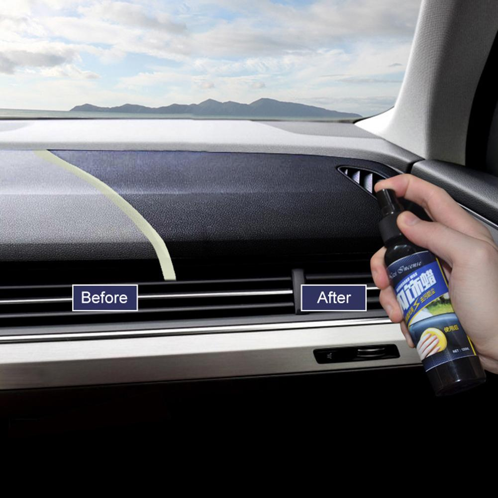 aliexpress.com - 50ML Car Vehicle Wax Interior Restorer Dashboard Seat Glossing Maintenance Tool Leather Seats Glazing Spray Cleaning Auto