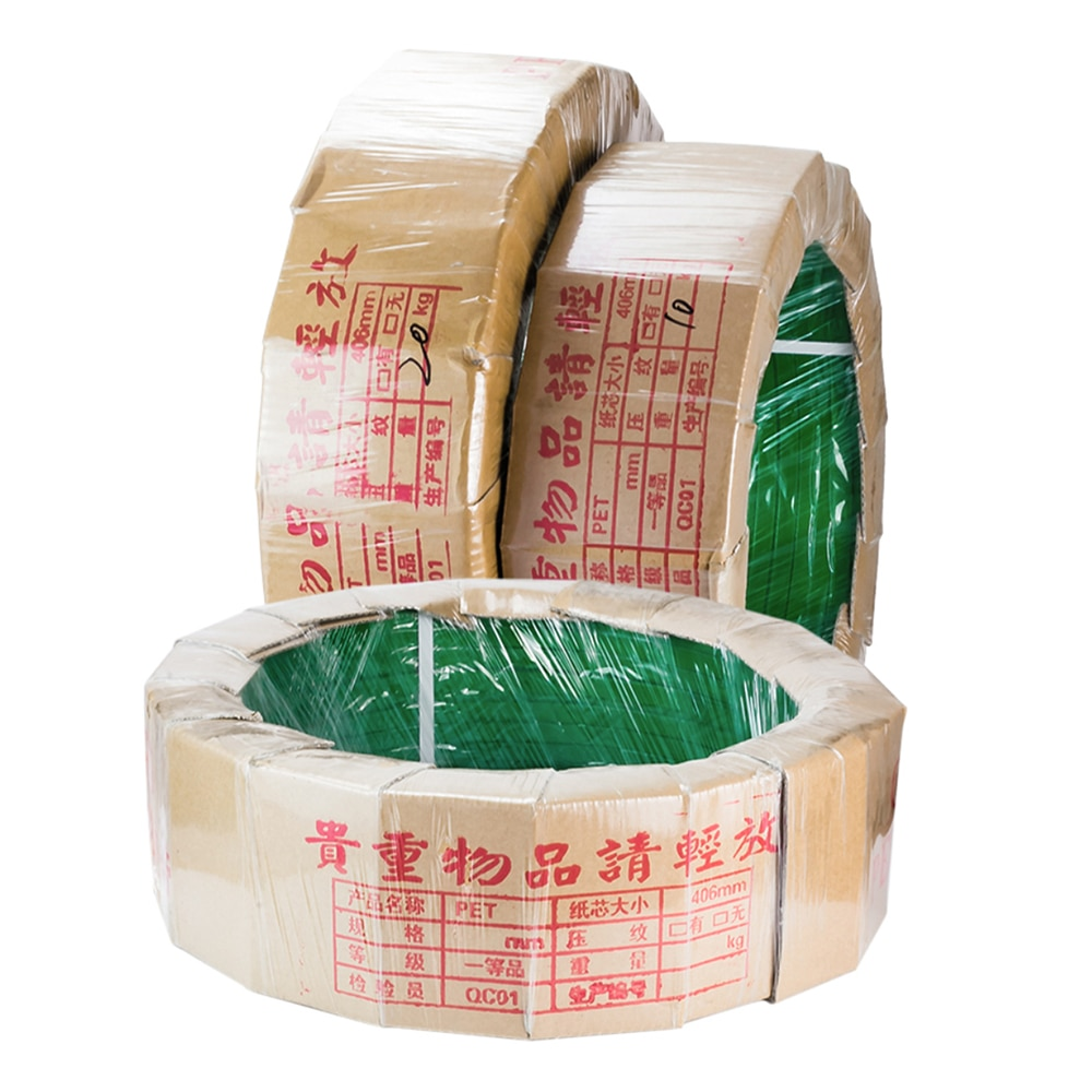 100% new xqd 25 plastic tensioning and friction welding pneumatic strapping tool pp pet strapping packing machine for 19 25mm 1608 Plastic Steel Packing Strap Pet Strapping Strap Pp Tape Strapping Packing Machine 1300m Strip Braid Rope Transport Tray