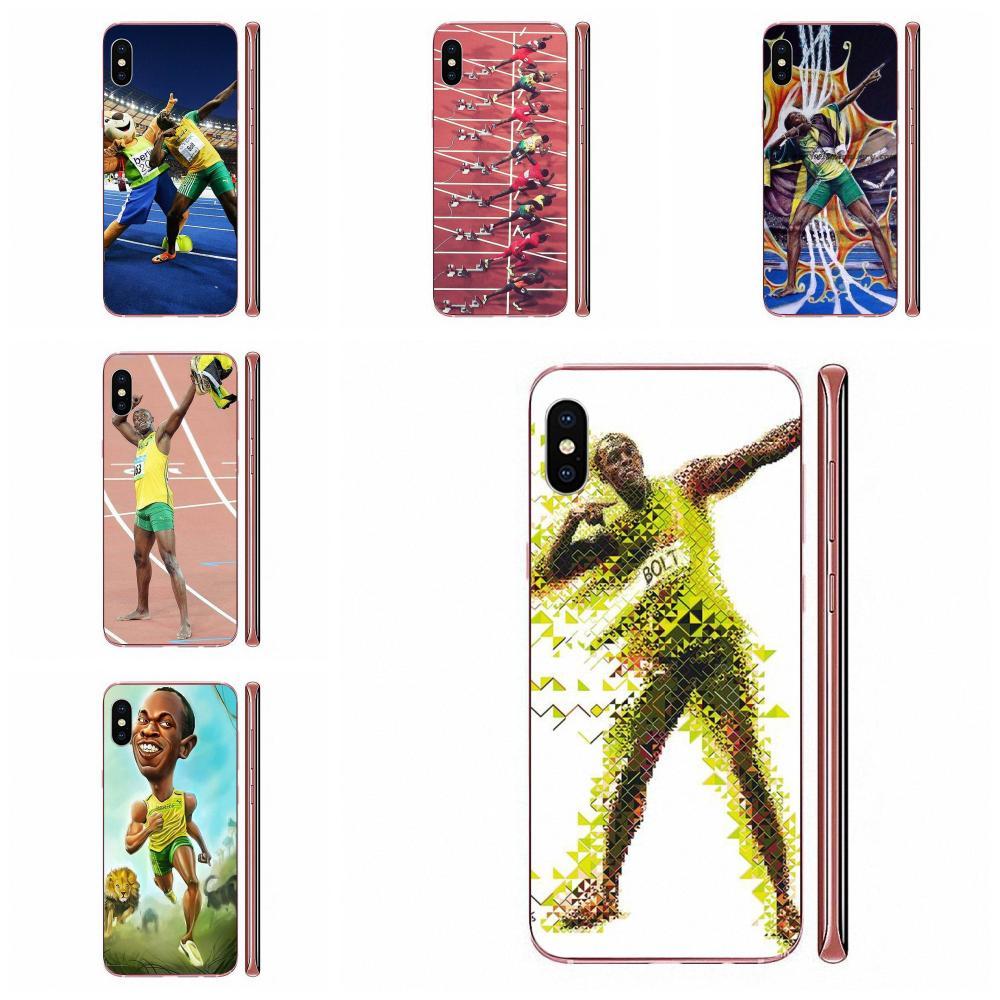 TPU Stylish Case Sports Star Usain Bolt For Huawei Mate 9 10 20 P P8 P9 P10 P20 P30 P40 Lite Pro Smart 2017