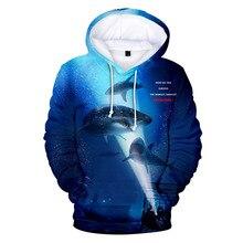 Fashion Cool Anime 3D Clothes Boys Hoodies Children Sweatshirts Cartoon Shark Hoodie Kids Tee Tops Baby Girl Graffiti Outfit